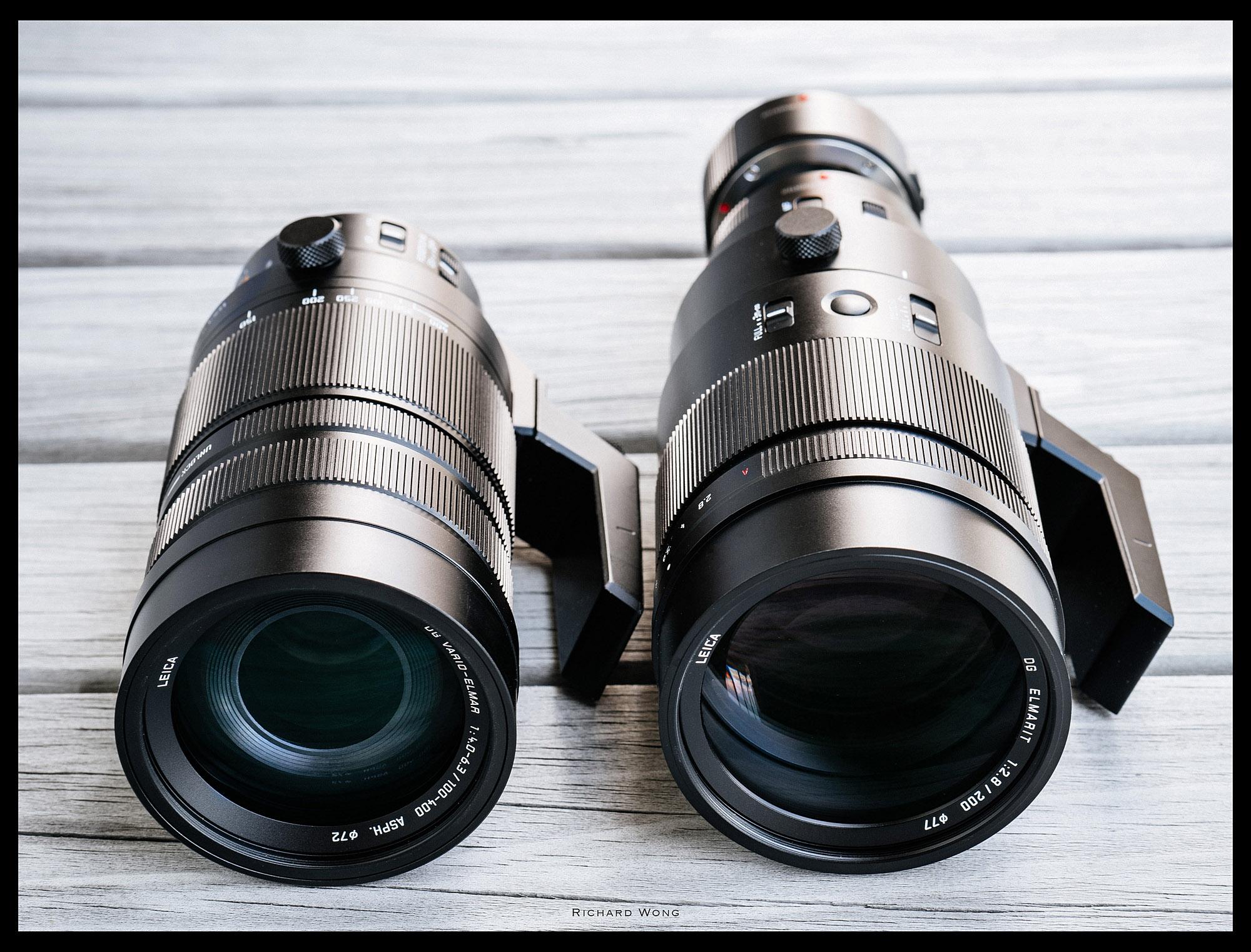 Panasonic Leica DG 100-400mm f/4-6 4 vs Leica DG 200mm f/2 8 (w 1 4x
